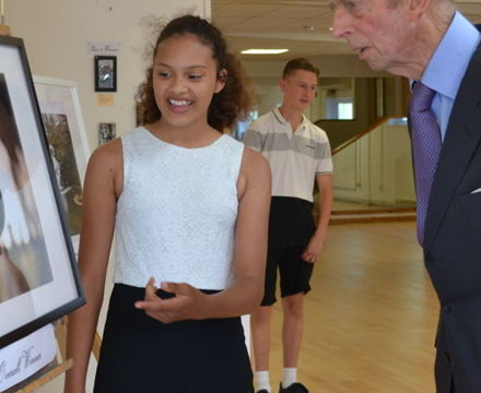 Duke of Kent visiting Charters School for Diamond Anniversary