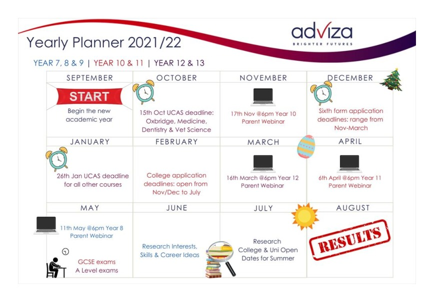 Adviza Calendar